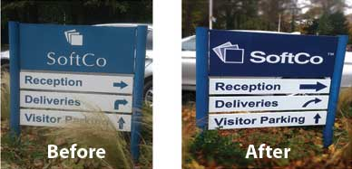 wayfinding-sign-refurbishing-dublin-ireland